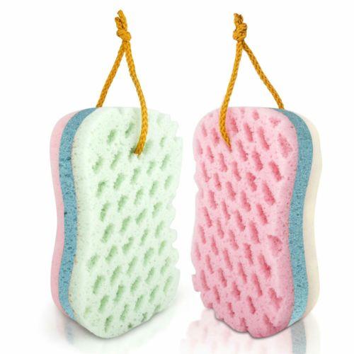 2 pk Bath Sponges