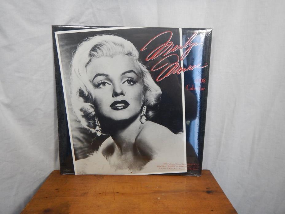 New Marilyn Monroe Calendar 1998 Landmark Calendars Black & White
