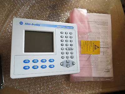 Allen Bradley PanelView Plus 400 2711P-K4C20A/C Color Keypad, Nice 2010 Tested