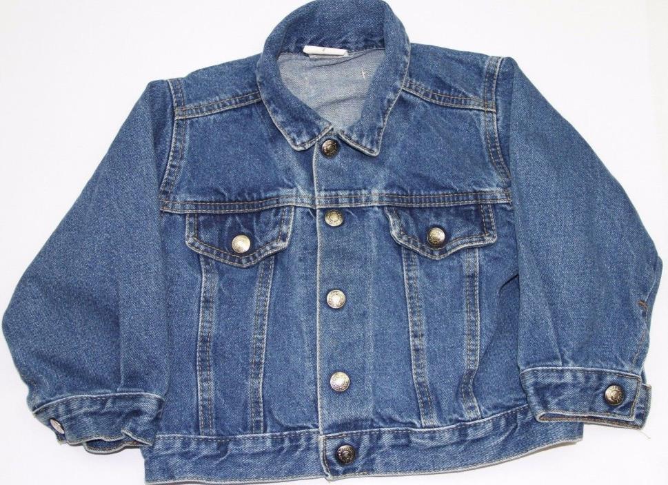 Snugabye Kids Denim Jacket Size 3 Toddler