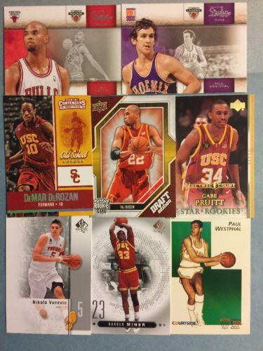 (170) USC Trojans Basketball Card Lot! Mayo- Young- DeRozan- Vucevic