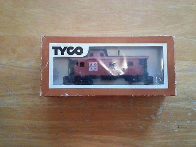 one rare Tyco Santa Fe cupola caboose made in Australia