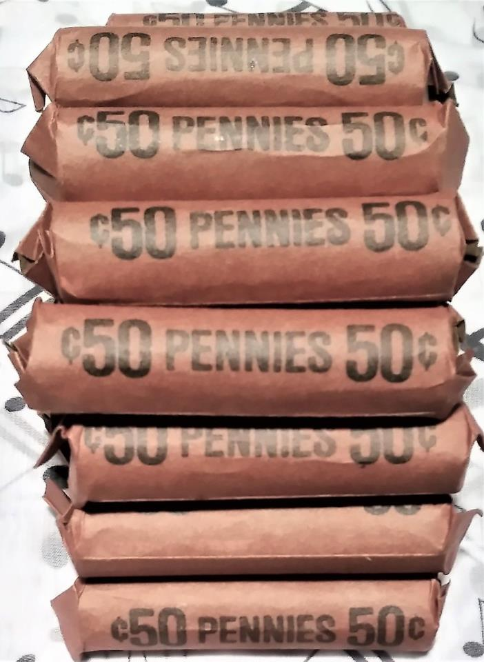 1 Random Unsearched Unopened Wheat Penny Roll 1909-1958 P D S ???