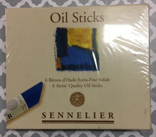 Sennelier Oil Painting Sticks Set Of 6 NEW