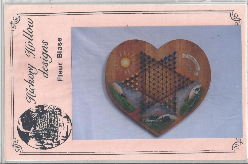 Sunshine Valley Chinese Checker Board  Tole Painting Packet by Fleur Blase