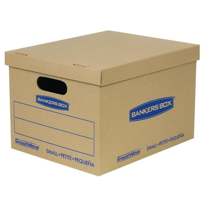 Boxes For Moving Cardboard Storage Box Set Lid Small Home Office Shipping 20 Pk