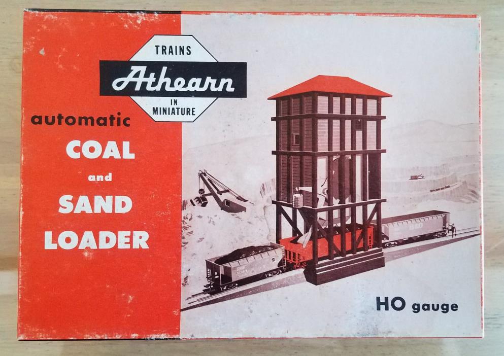 Athearn 3155 HO Operating Sand Coal Loader Kit, NOS