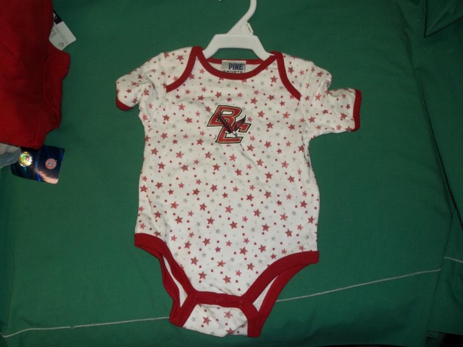 Boston College One Piece Size 6-9 Months Pine Sports NEW with TAGS