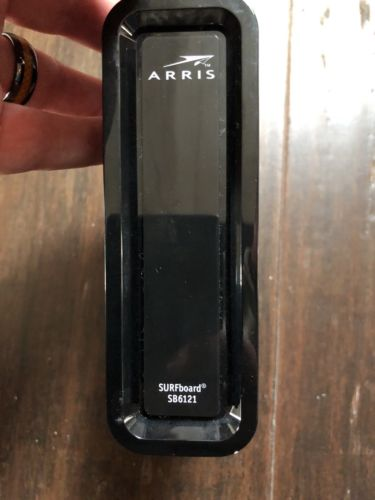 ARRIS Motorola SB6121 Surfboard Cable Modem DOCSIS 3.0 (No power supply)