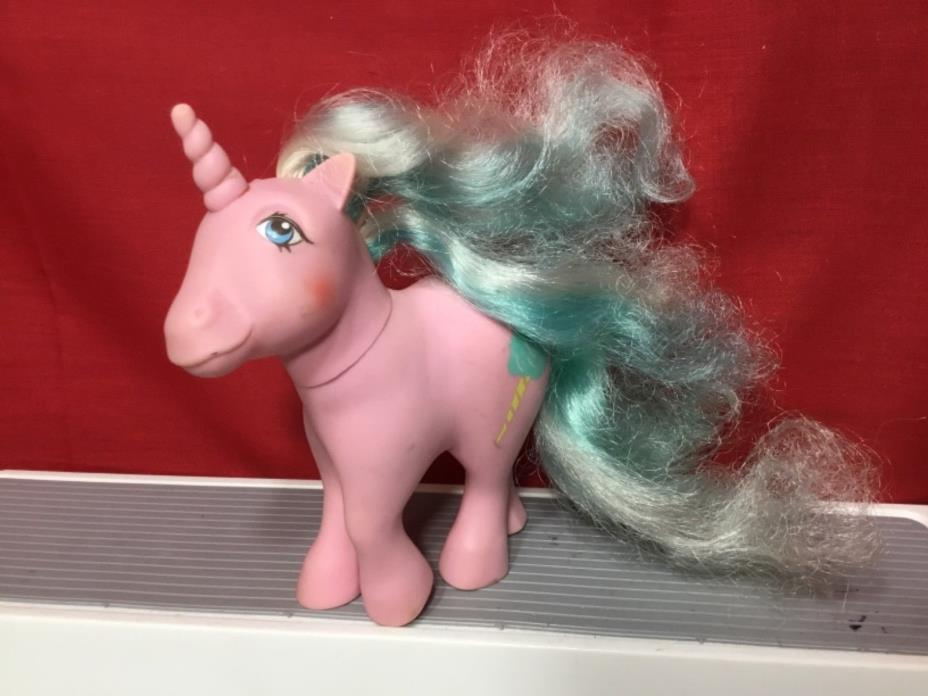 1983 Hasbro Vintage My Little Pony Candy Cane Ponies Sugar Sweet Unicorn