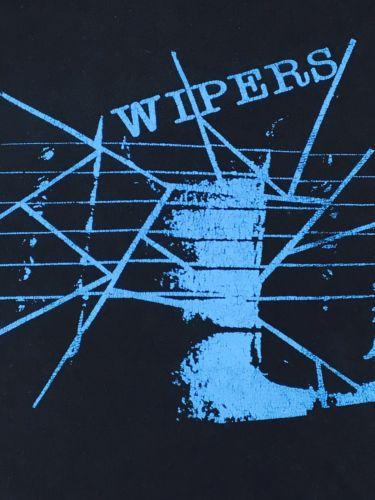 Wipers Shirt Punk Rock Shirt Black Shirt Concert Shirt Band Tee Dead Moon