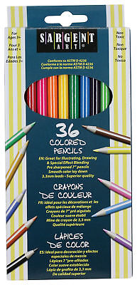 Sargent Art Colored Pencils - 7 in - 36 count