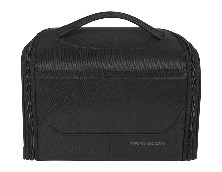 Travelon Weekend Independence Hanging Toiletry Bag, Black