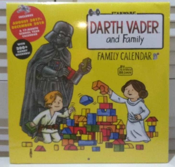 Darth Vader and Family 2018 Family Wall Calendar by Jeffrey Brown, Star Wars