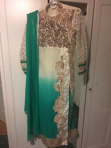 indian Green Salwar Kamezz