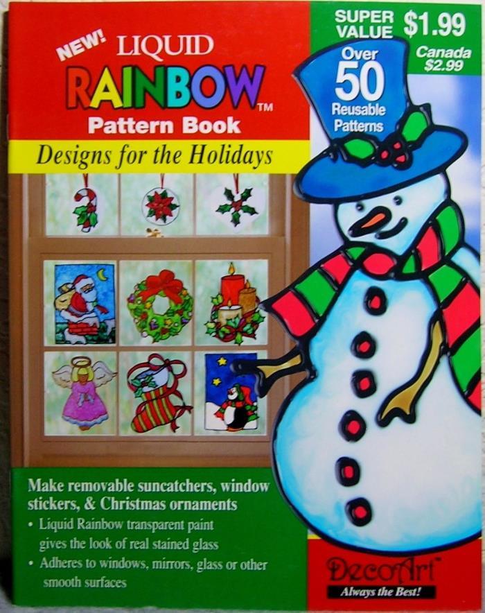 DecoArt Liquid Rainbow Pattern Book