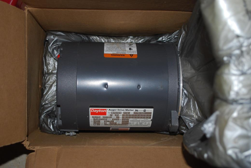 Dayton 5K0436 1/3HP Auger Driver Motor Made in USA - 1/2