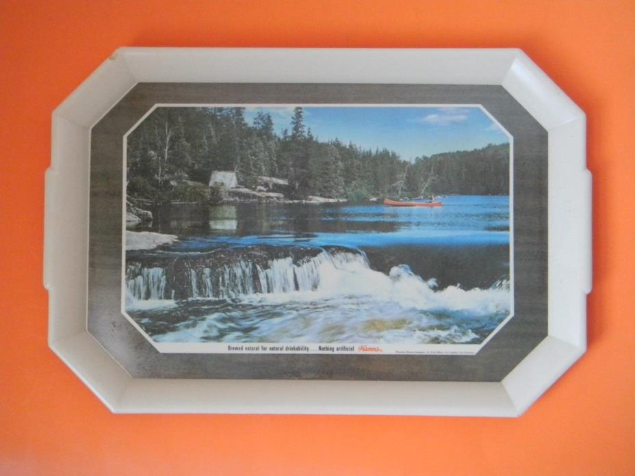 Hamms Beer Large Plastic Tray Nature Scene 20