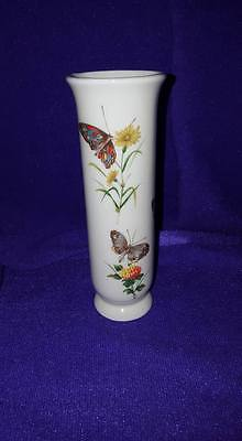 Takahashi San Fransisco Dew Hand Decorated Bud Vase; Japan