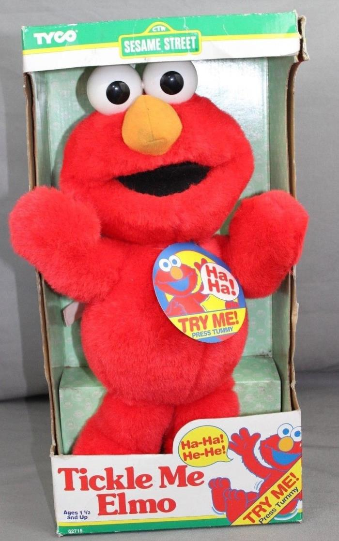 NIB 1996 Tyco Sesame Street Tickle Me Elmo