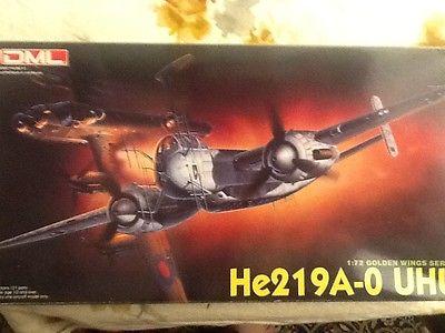 1/72 DML/Dragon Heinkel He-219A-0