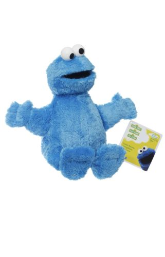 Playskool Sesame Street Cookie Monster Jumbo Stuffed Plush 20
