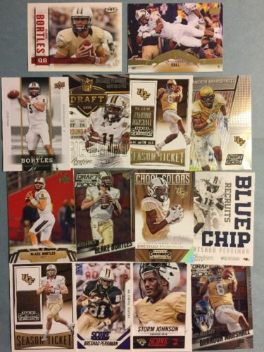 (206) Central Florida Sports Cards- Bortles- Culpepper- Marshall- Perriman