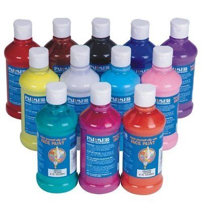 8-oz. Palmer Face Paint pack of 12 Other Art Supplies Crafts
