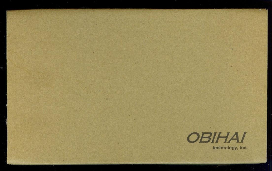 OBi200 1-Port VoIP Phone Adapter with Google Voice and Fax Support for Home NIB