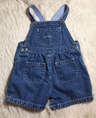 Tommy Hilfiger Vintage Infant Overalls 6-12 Months