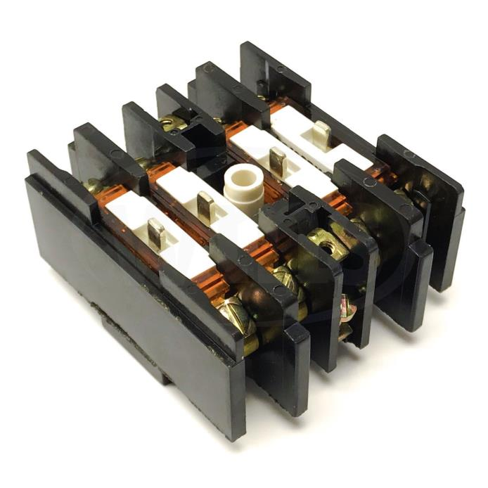 General Electric CR120BX14 Industrial Relay Second Adder Block, 4-Pole