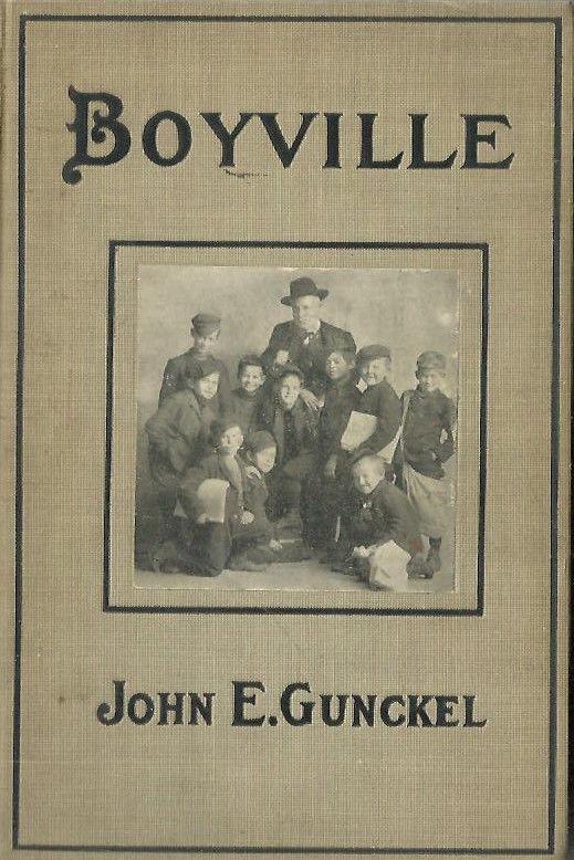 BX 1905 1st ED - BOYVILLE History & True Story of NEWSBOYS NEWSPAPER PAPERBOYS