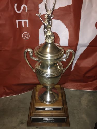 Dale Jarrett 1997 Atlanta Win Nascar Race Used Drivers Trophy Rare! Big