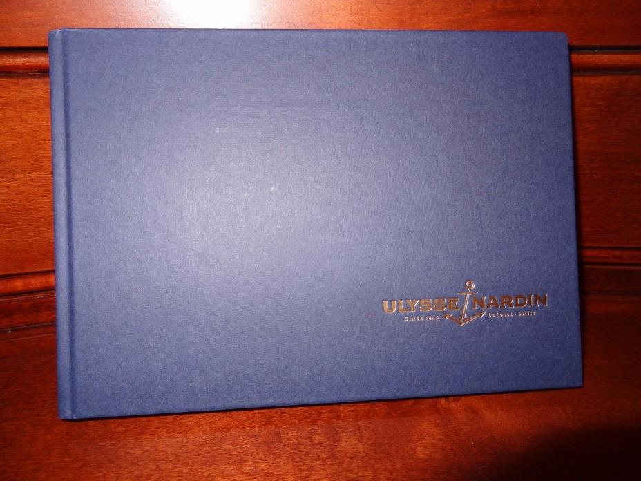 Rare ULYSSE NARDIN Watches Catalog Collection 2015 English