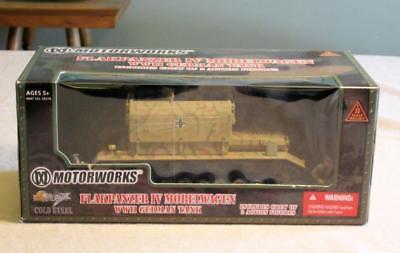 MotorWorks Flakpanzer IV MobelWagen Tank  Model WWII 1:32 German DieCast NEW