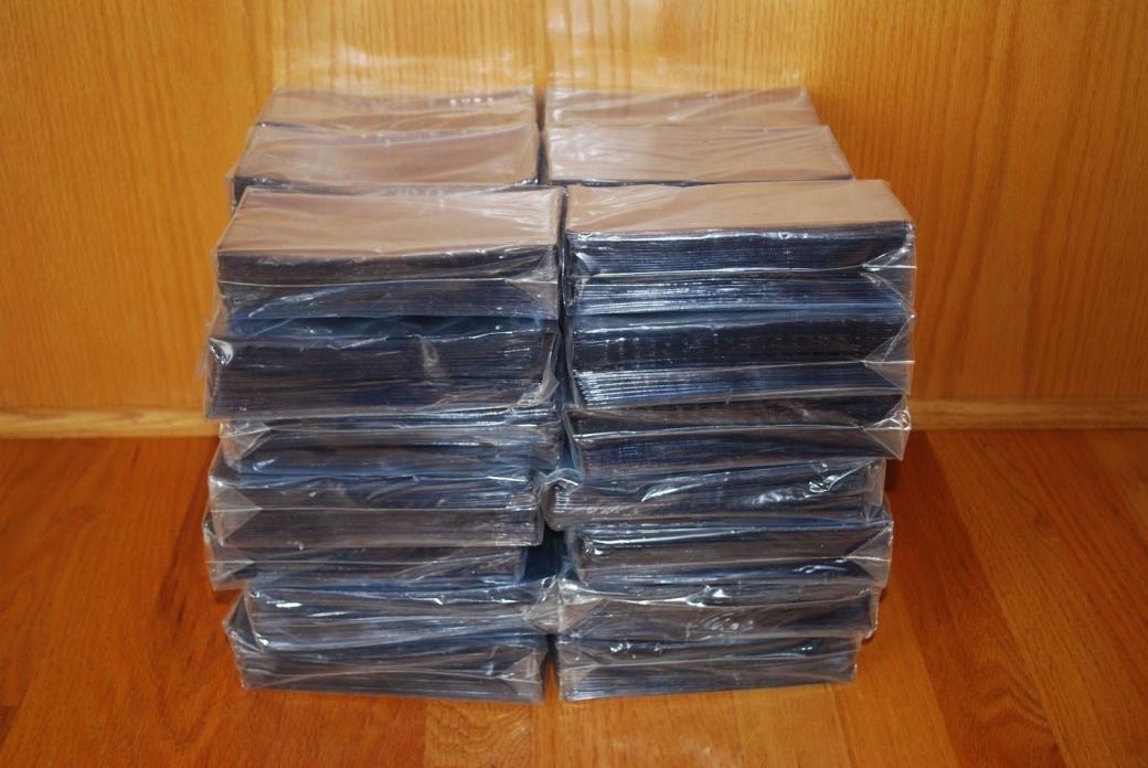 100 STANDARD SEMI-RIGID PLASTIC CURRENCY HOLDERS. Lot SSA