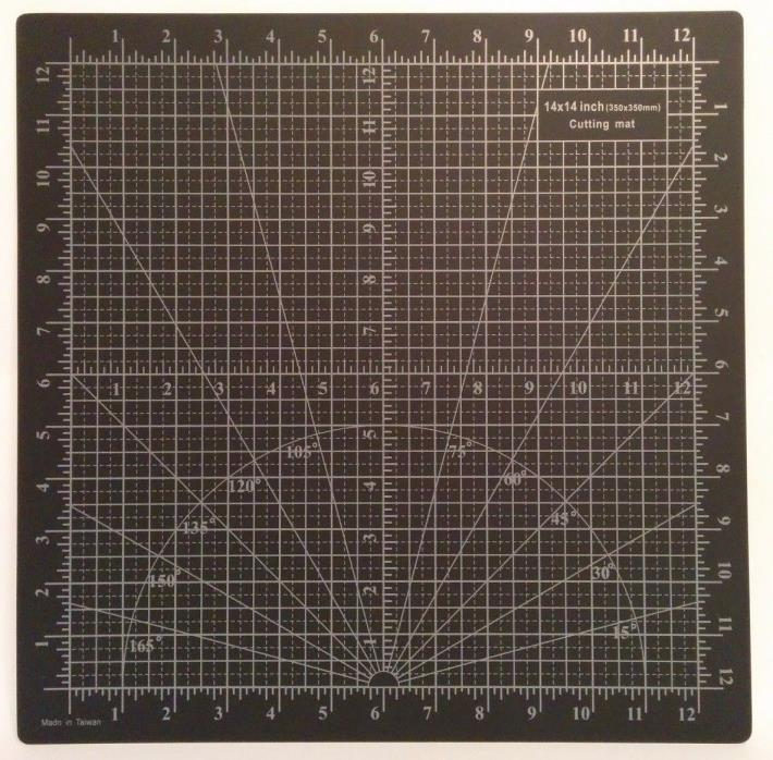 Premium Tough Grade Double-Sided Non-Slip 5-ply Cutting Mat - Size SQ(14