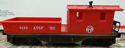 LIONEL 6130 ATSF WORK CABOOSE.