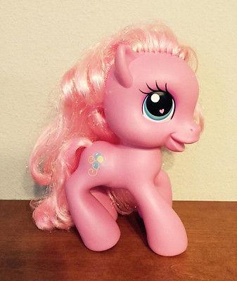 2008  MLP My Little Pony Pink Pinkie Pie 8 Inch Vinyl Hasbro