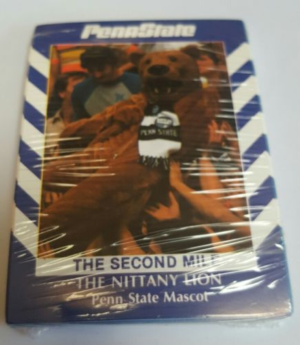 RARE 1991 Penn State Mascot Basketball SEALED FACTORY Set 2ND Mile NICE CHAMPS