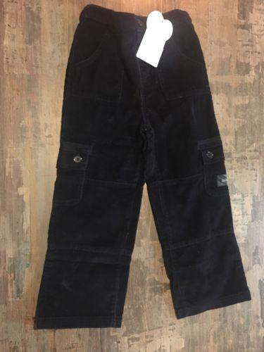 JoJo Maman Bebe Cord Utility Trousers Navy Blue 5-6 years NWT