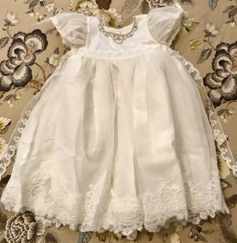 Dollcake Vintage Alexandria Christening Gown, New!