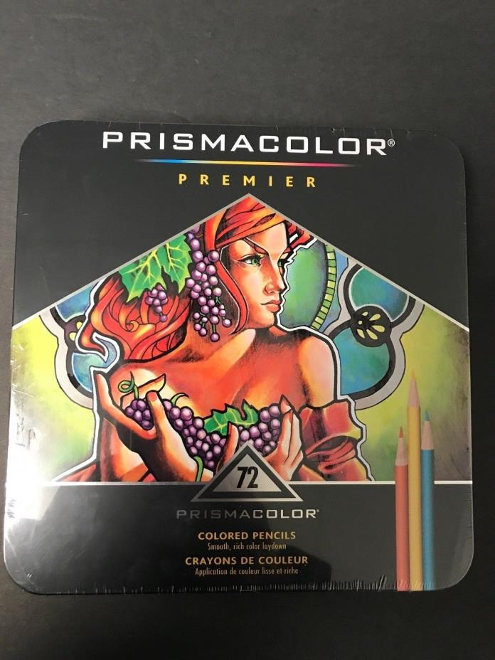 Prismacolor Premier Colored Pencils Soft Core 72 Pack  1753454 NEW