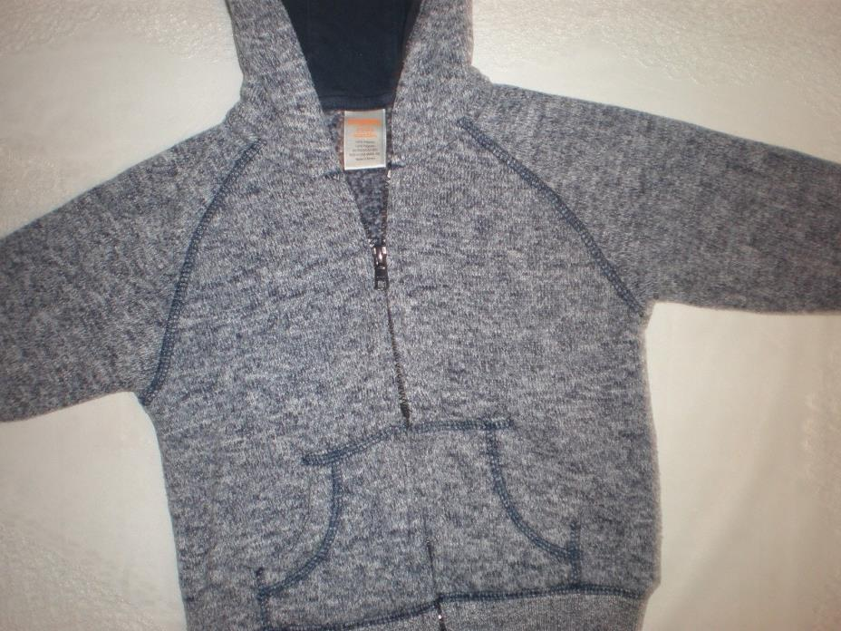 ~SUPER NICE SOFT..COZY..COMFY GYMBOREE HOODIE...12-24 MONTHS...5.99
