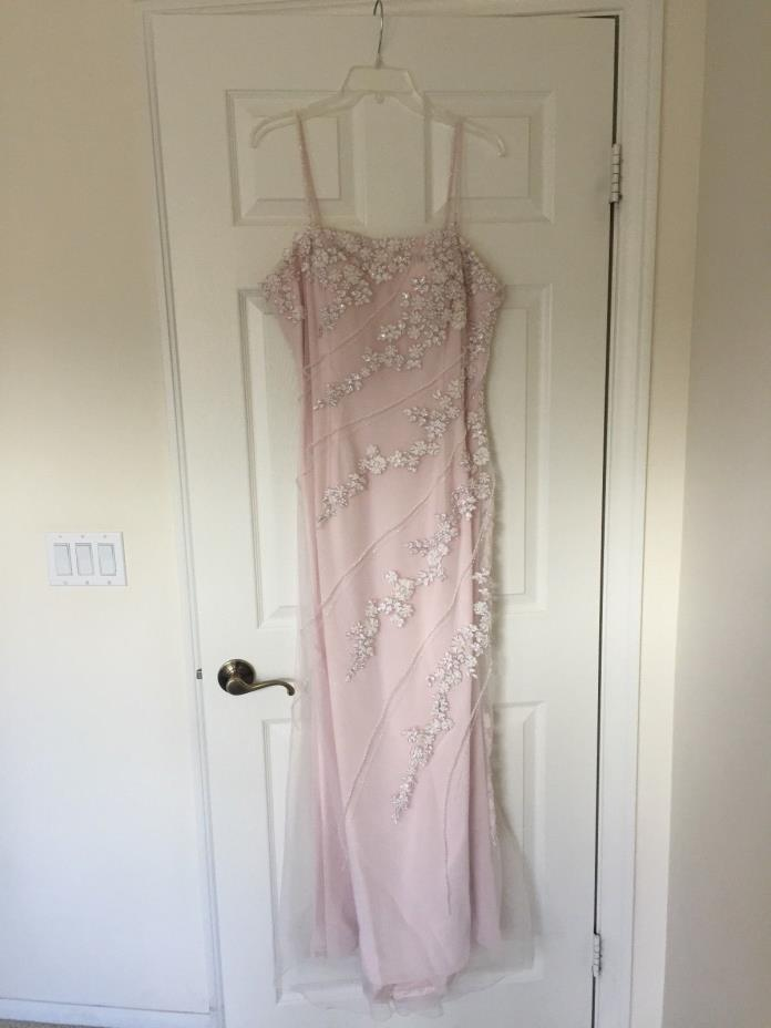 Mon Cheri Evenings, Ice Pink, Size 14, NWT, never worn