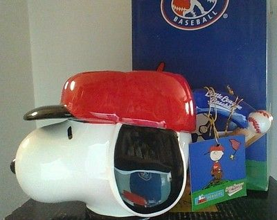 Peanuts Snoopy Little League Westland Ceramic Baseball Cap Coffee Mug