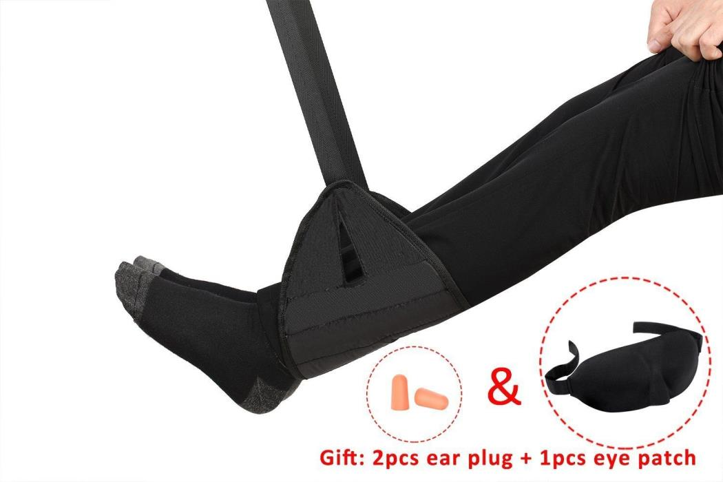 Portable Travel Footrest and eyemask