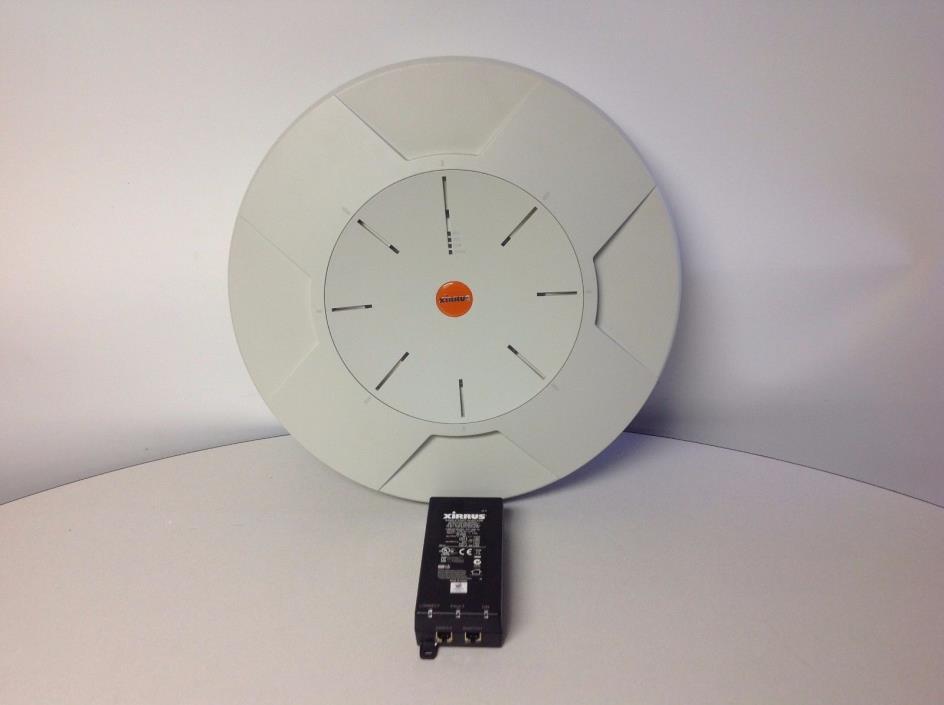 Xirrus XN8 WiFi Array Access Point With Power Injector POE75U-1UP-X