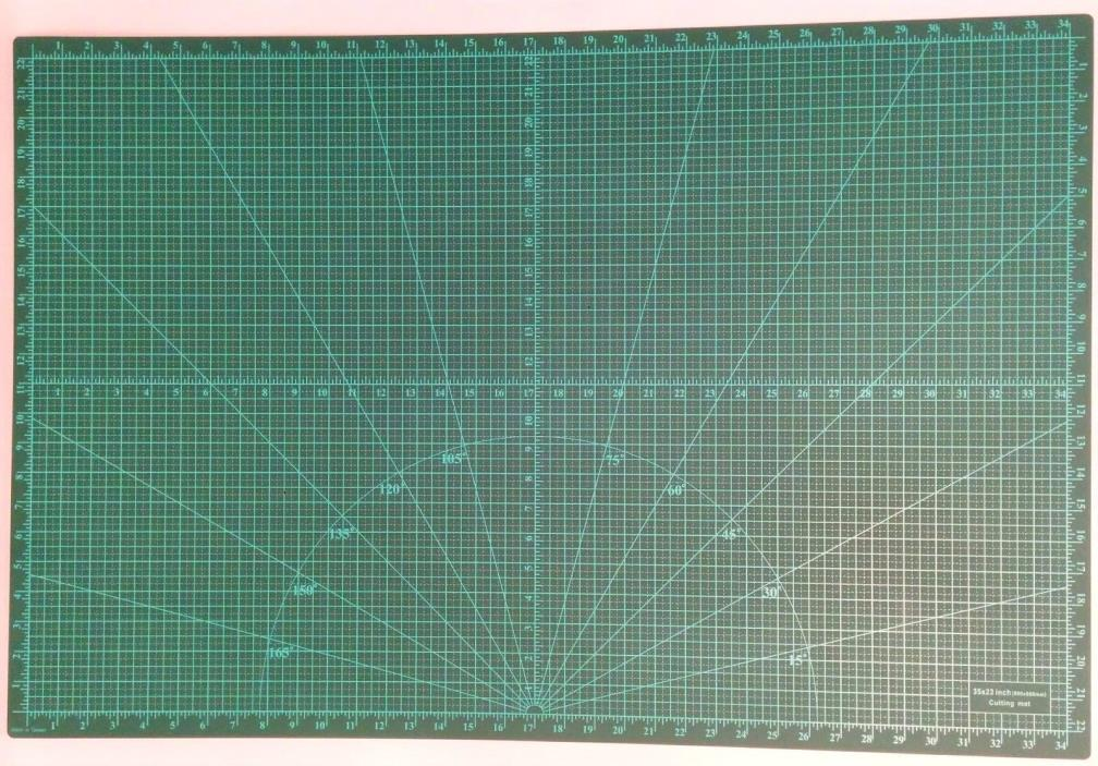 Premium Tough Grade Double-Sided Non-Slip 5-ply Cutting Mat - Size A1(36