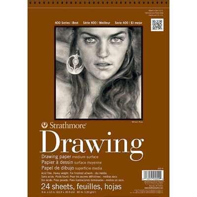 Strathmore Medium Drawing Spiral Paper Pad 9
